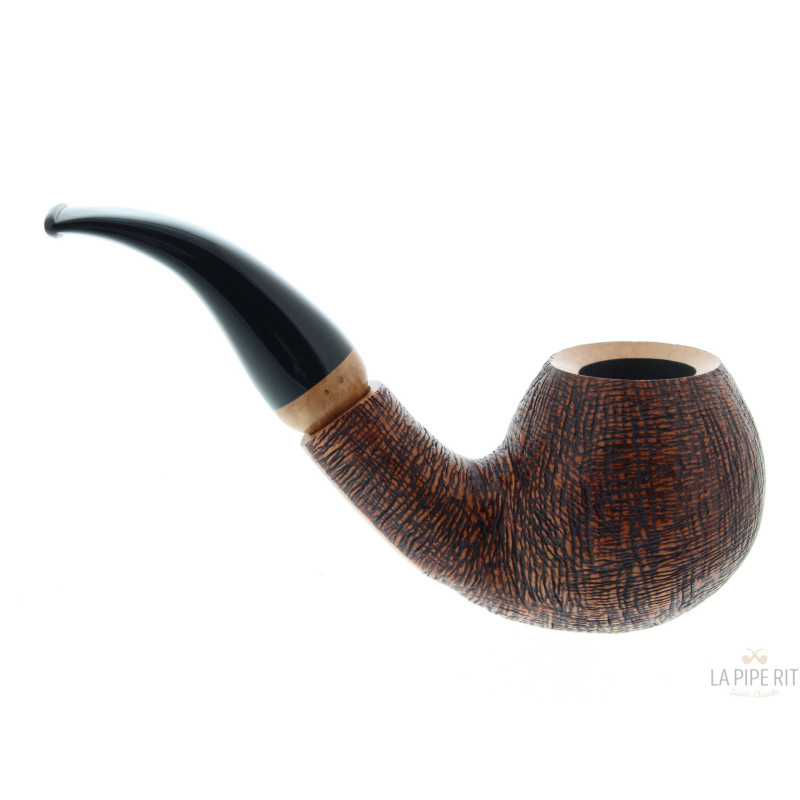 Vauen Luxor 419 Pipe With A Rusticated Finish La Pipe Rit