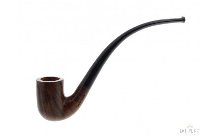Pipe longue Eole Panache marron
