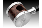 Handmade Tsuge pipe Blowfish silver 6089