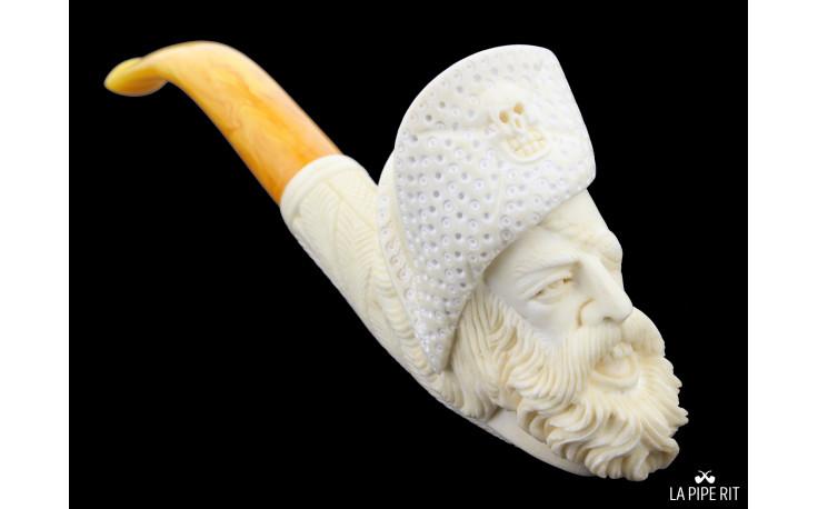 Meerschaum pirate pipe
