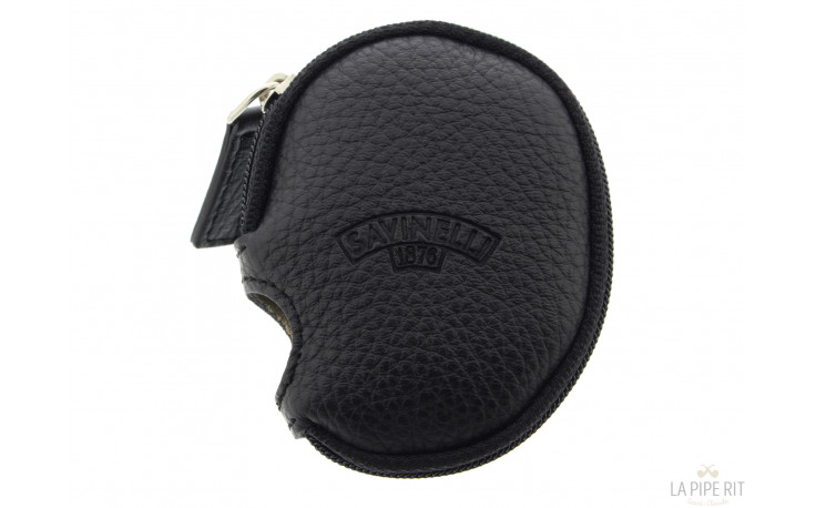 Black protective cover Savinelli for pipe