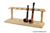 Pose pipes Chacom hêtre naturel 306