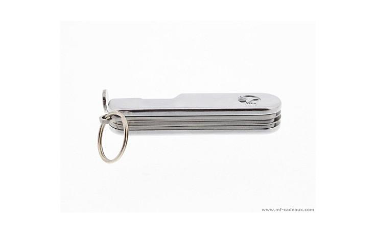 Bourre pipe couteau suisse métal