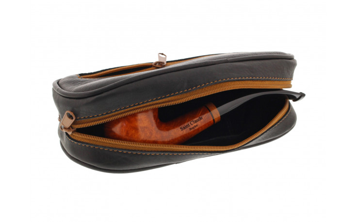 Black Chacom tobacco pouch
