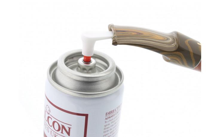 Falcon pipe spray
