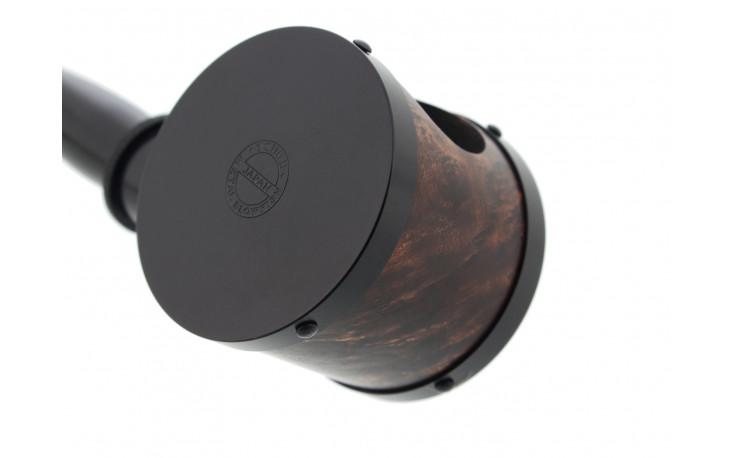 Handmade pipe Tsuge Blowfish black 6087