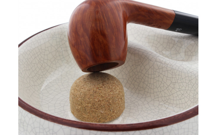 Ceramic ashtray for 1 pipe