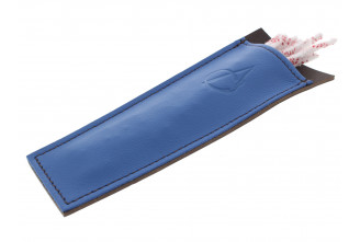 Blue leather case for pipe cleaners by Claudio ALBIERI