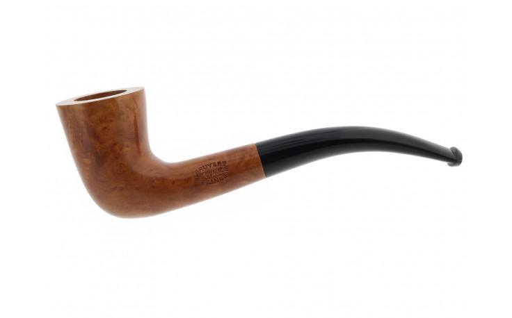 Natural extra half-bent pipe