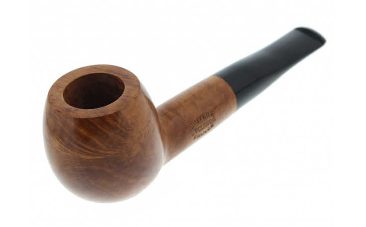 Natural round short pipe