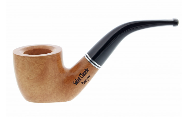 Natural Duo pipe with flat bottom