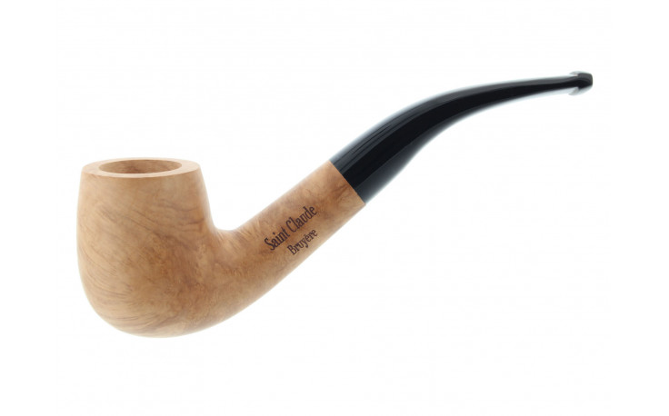 Curved and natural pipe