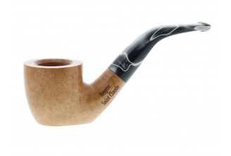 Natural Brume pipe with flat bottom