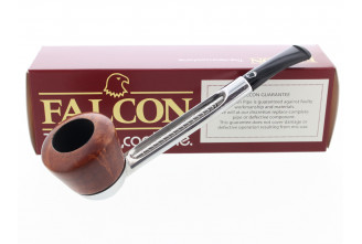 Falcon pipe Genoa with a half-bent mouthpiece