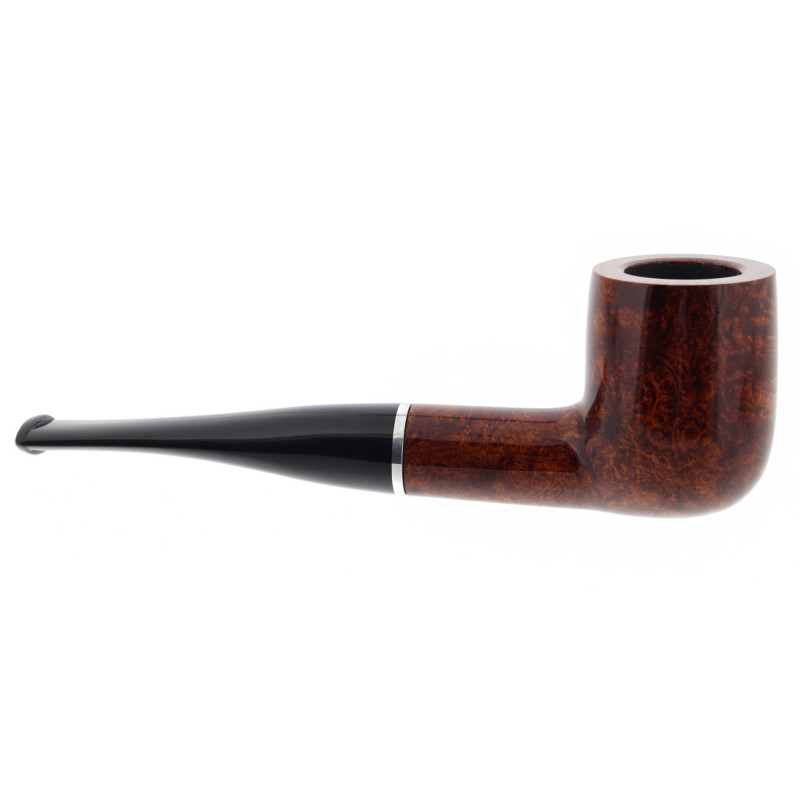 Big Ben smoking set with a lacquered straight pipe - La Pipe Rit