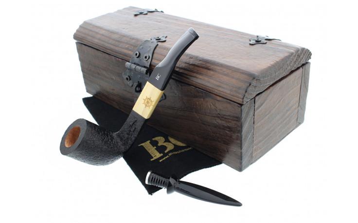 Sandblasted Butz Choquin Pirat pipe
