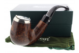 Nickel Cap XL Bent classic Peterson pipe