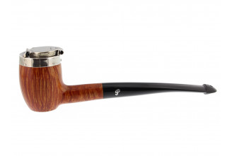 Nickel Cap Barrel Peterson pipe
