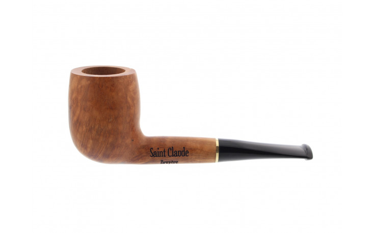 Short straight natural pipe
