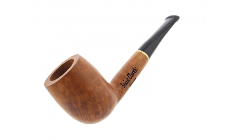 Short straight natural pipe