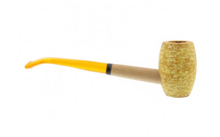 Mizzou bent corn cob pipe