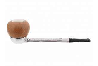 Falcon straight pipe (meerschaum hearth)