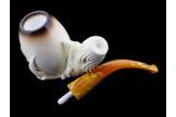 Vintage claw meerschaum pipe