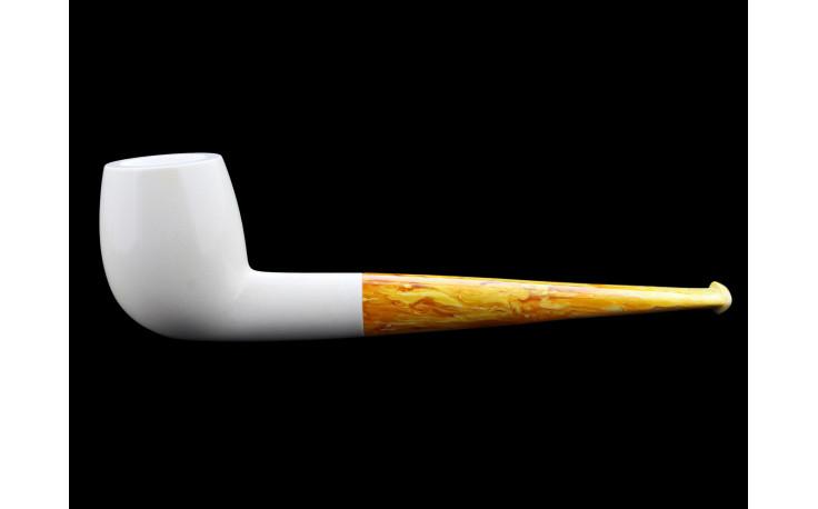 Small straight Meerschaum pipe