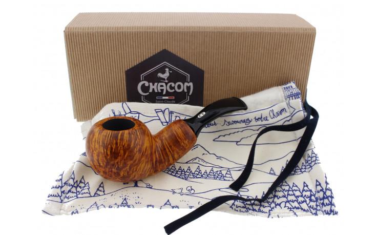 Chacom Reverse Calabash pipe (orange)