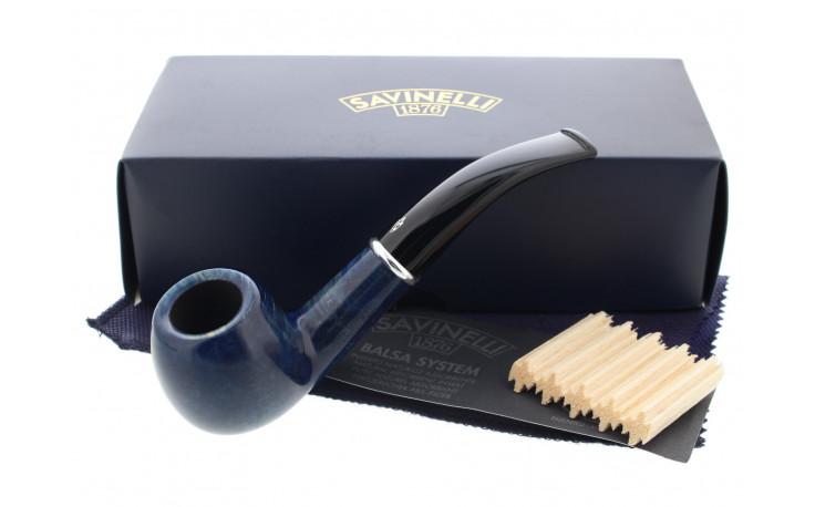 Arcobaleno 626 blue Savinelli pipe