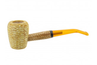 Legend Rob Roy corn cob pipe (bent bit)