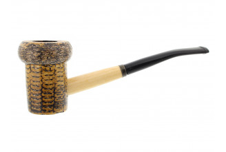 Patriot corn cob pipe (bent bit)
