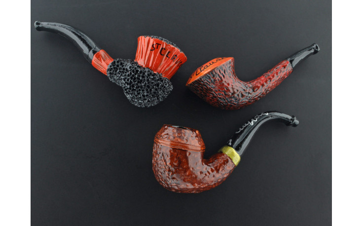 """3 fridge magnets """"Pipes from St Claude"""" (n°1)"""