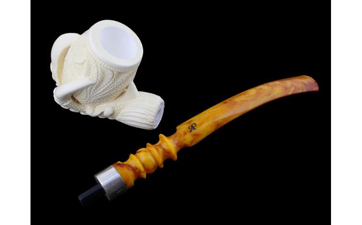 Churchwarden Claws meerschaum pipe