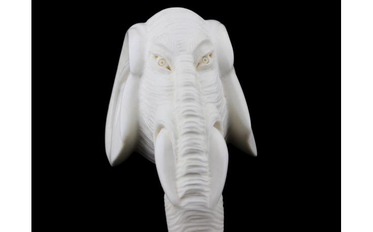 Pipe en écume de mer Éléphant B202