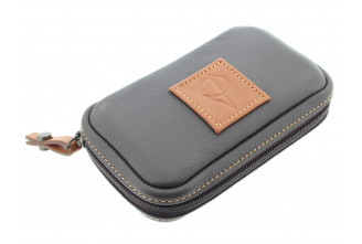 Pipe case by Claudio Albieri (beige and brown)