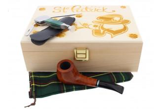 St. Patrick's Day Pipe smoker box