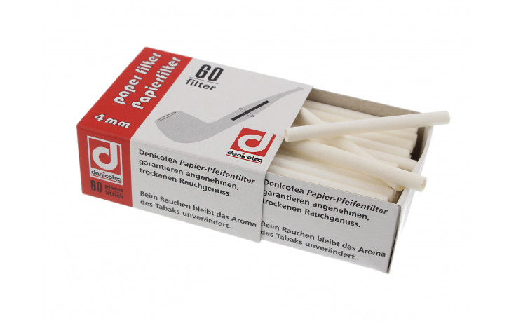 4mm paper filters (x60)