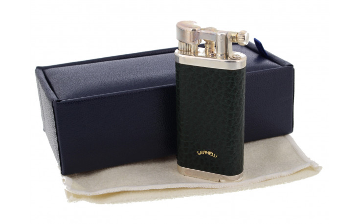 Pipe lighter Corona 64-400E (inlaid wood and leather)