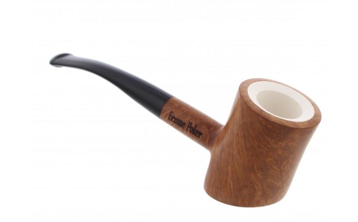 Meerschaum Eole poker pipe