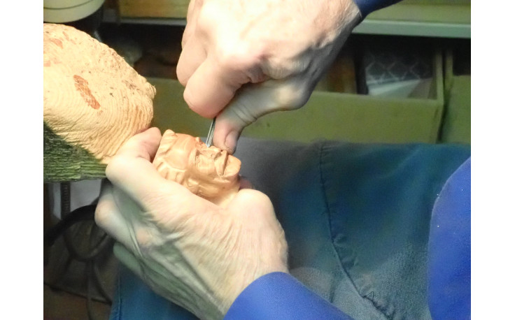 Pipe sculptée Brassens