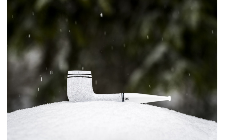 Chamonix 1604 Butz-Choquin pipe (white)