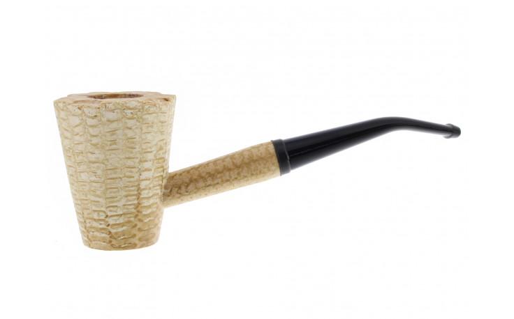 Mark Twain corn cob pipe (bent bit)