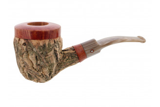 Tom Spanu pipe (bent shape)