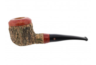 Tom Spanu pipe (straight shape, black mouthpiece)