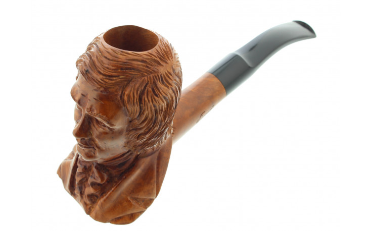 Robert Schumann sculpted pipe