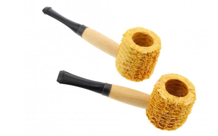 Mini corn cob pipes (set n°2)