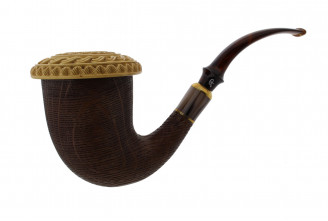 Calabash pipe 2 (Meerschaum and Morta)