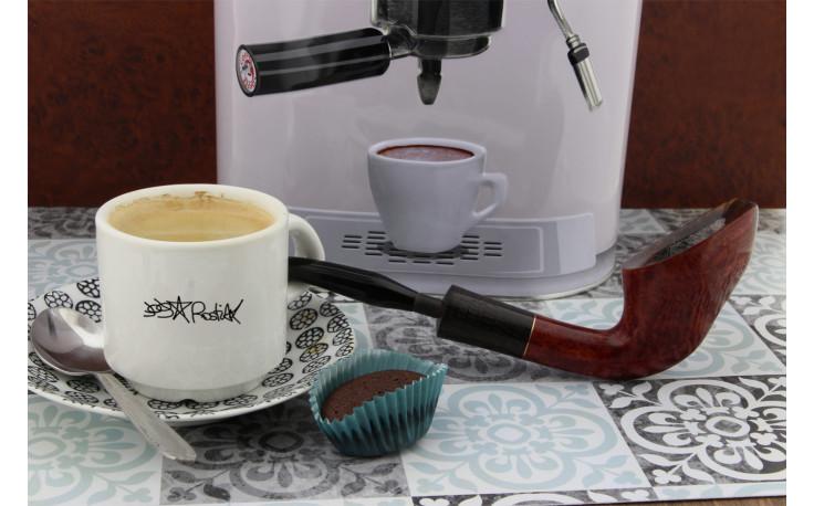 Coffee break 10 half-bent Rostiak pipe