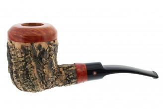 Tom Spanu pipe (straight shape, black saddle mouthpiece)